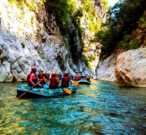 go active rafting